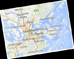 Arbetsomrade stockholm